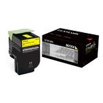 Toner Y pour LEXMARK CX510 Konica Laser-Store